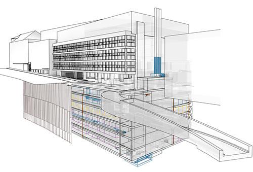 Architektur Zeichnung aktuell kunz architektur