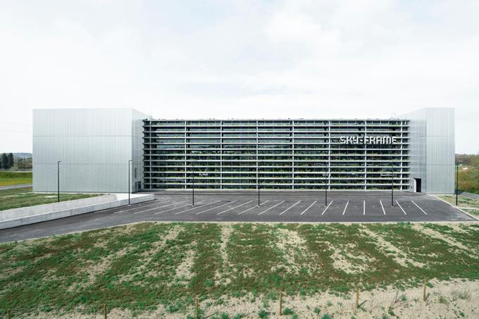 Sky Frame Fenster gewerbebauten kunz architektur